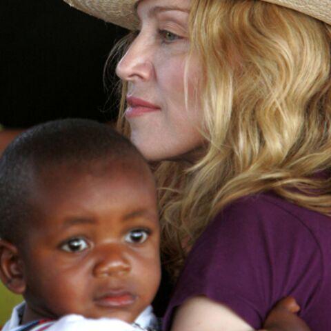 Madonna: dernière ligne droite avant l'adoption de David