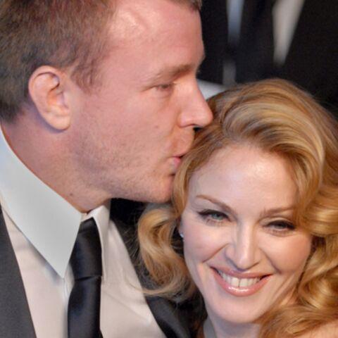 Madonna et Guy Ritchie: la réconciliation?