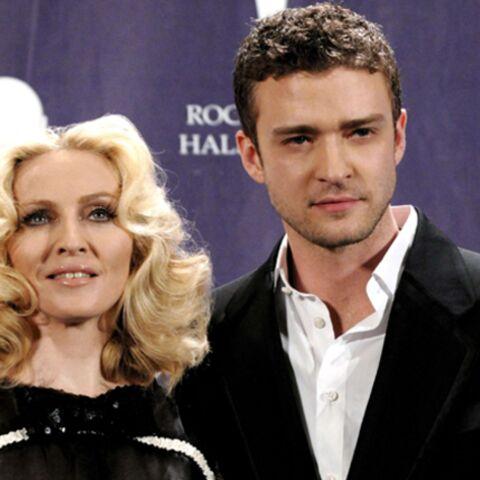 Madonna et Justin Timberlake picolent ensemble