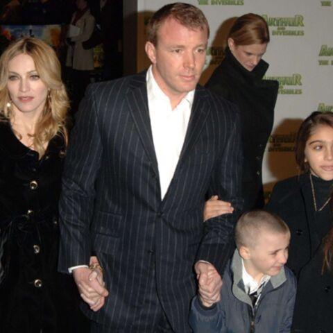 Madonna et Guy Ritchie se partageront la garde des enfants