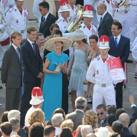 Mariage civil à Monaco: une belle fête de famille