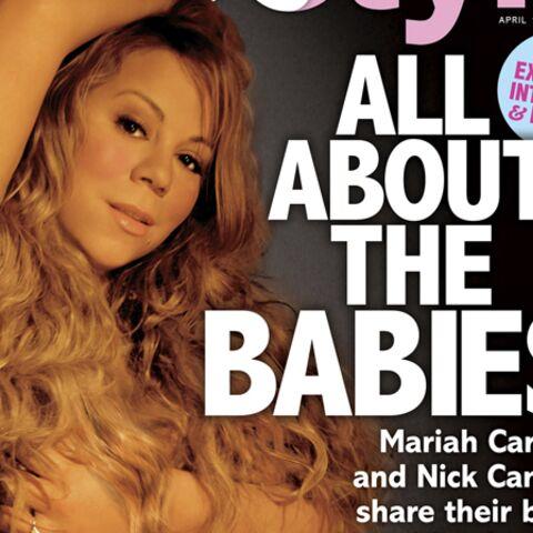 Mariah Carey et son mari posent nus