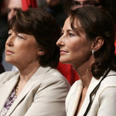 Ségolène Royal et Martine Aubry, main dans la main dans la mouise
