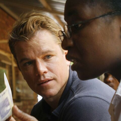 Matt Damon mêle l'utile au cinéma en Afrique du Sud