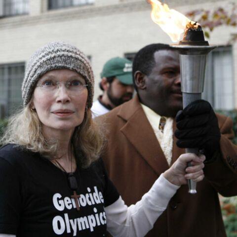Mia Farrow ne pourra pas manifester contre la Chine