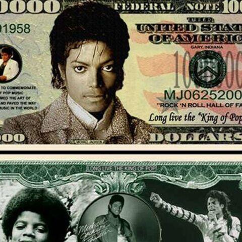 Michael Jackson: 4 millions d'albums vendus