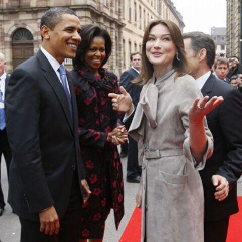 Carla Bruni-Sarkozy et Michelle Obama: la rencontre, enfin!