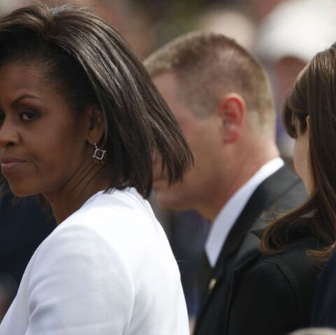 Michelle Obama a laissé Barack repartir seul à Washington