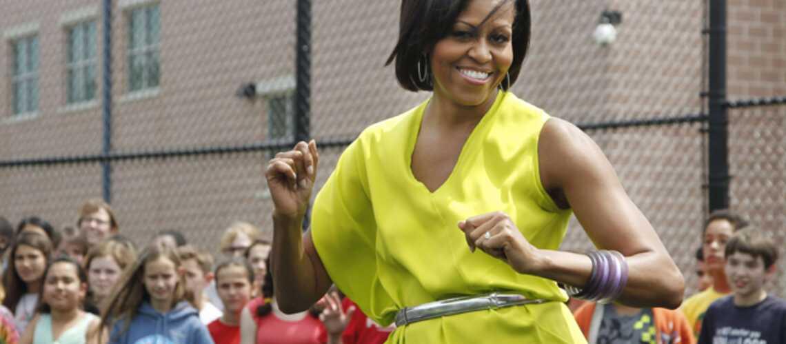 Vidéo: Le déhanché de Michelle Obama