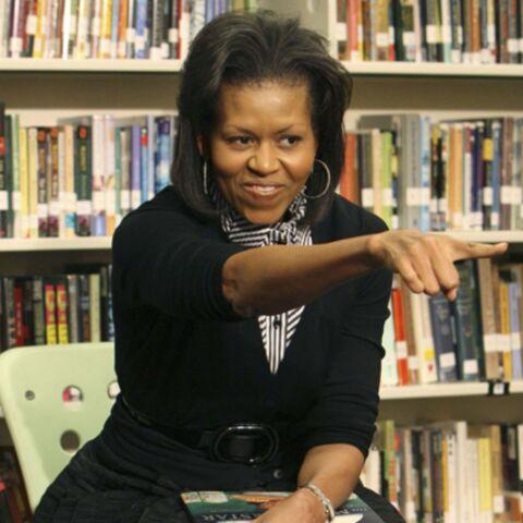 Michelle Obama: la première dame s'est déjà mise à l'ouvrage