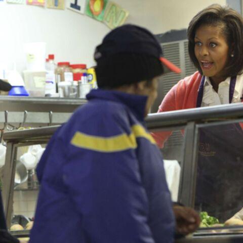 Michèle Obama à la soupe populaire