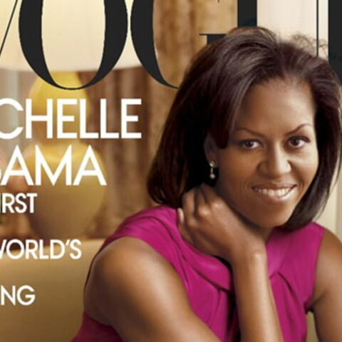 Photo: Michelle Obama illumine la Une de Vogue