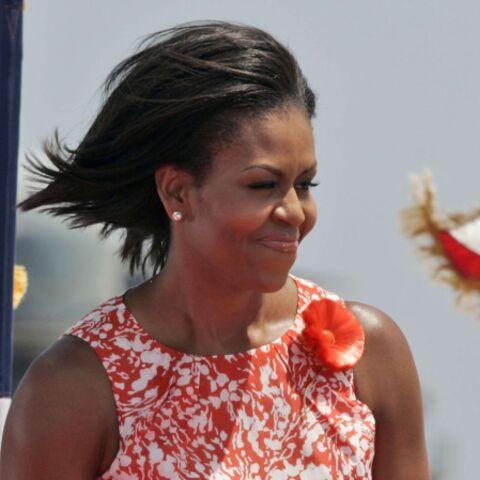 Michelle Obama: l'important, c'est la fleur…