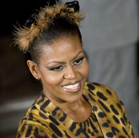 Michelle Obama se retrouve «plutôt à poil qu'en fourrure»