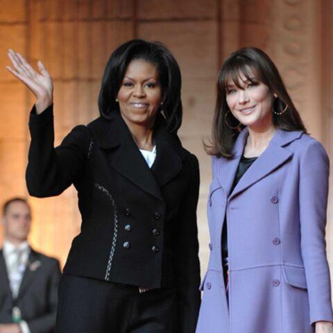 Entre Michelle Obama et Carla Bruni-Sarkozy, le courant est passé