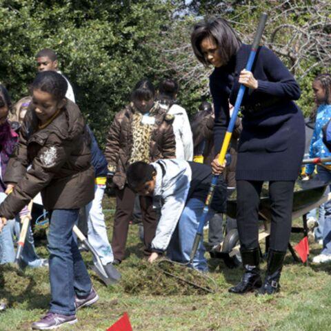 Michelle Obama: du barreau au poireau