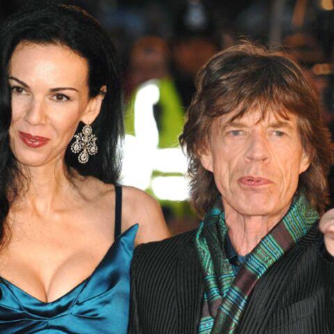 Mick Jagger soutenu par ses enfants