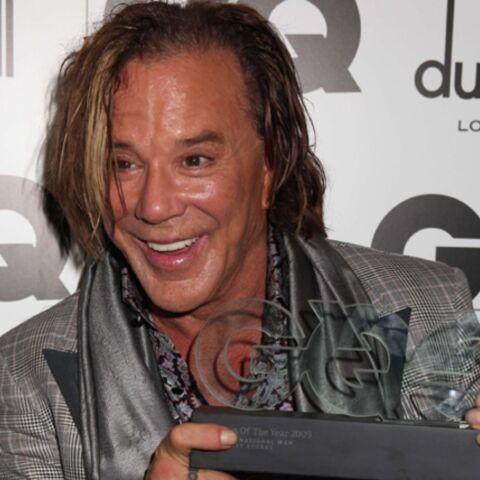 Mickey Rourke élu «homme de l'année»