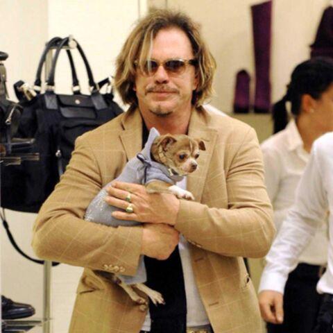Drame: le chien de Mickey Rourke est mort