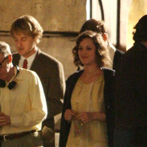 Photos- Défilé de stars sur le tournage de Midnight in Paris