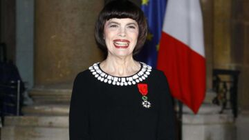 Mireille Mathieu, officier et gente dame