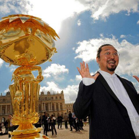 PHOTOS – Murakami: son florilège de sculptures à Versailles