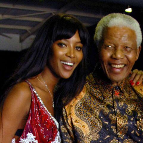 Naomi Campbell blacklistée par Nelson Mandela