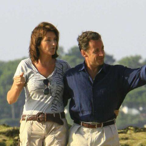 Les Sarkozy en vacances