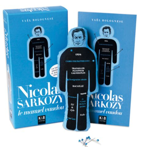 La poupée vaudou de Nicolas Sarkozy reste en vente