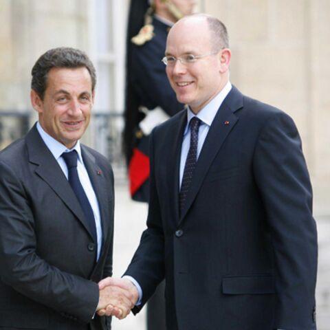 Nicolas Sarkozy sur le Rocher