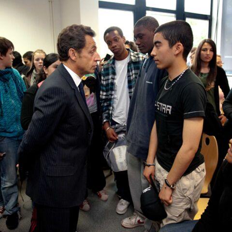 Nicolas Sarkozy regrette ses années lycée