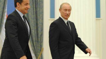 Nicolas Sarkozy maltraité par les journaux russes