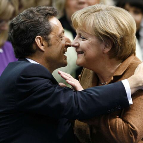 Lune de miel pour Nicolas Sarkozy et Angela Merkel