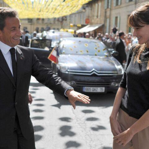 Nicolas Sarkozy et Carla Bruni: idées sexuellement transmissibles