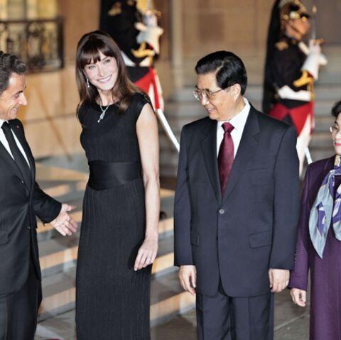Nicolas Sarkozy/ Hu Jintao: c'est déjà Noël à l'Elysée