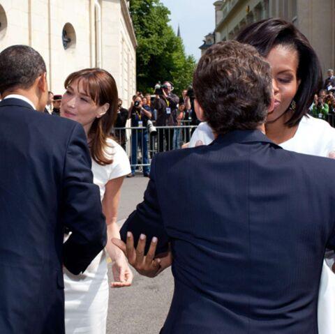 Nicolas Sarkozy: son passe-droit avec Michelle Obama