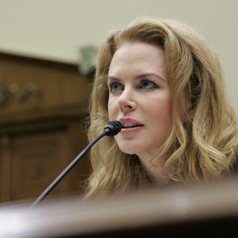 Nicole Kidman, une féministe devant le Congrès