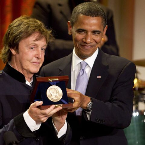 Paul McCartney, récompensé par Barack Obama