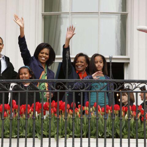 Oeufs, lapin et chocolats pour la famille Obama