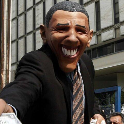 Tous «obamasqués» pour le carnaval de Rio!