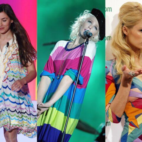 Olivia Ruiz, Micky Green, Paris Hilton, over the rainbow