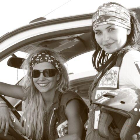 PHOTOS: Alexandra Rosenfeld et Valérie Bègue jouent les gazelles