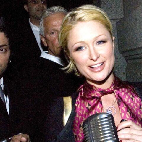 Paris Hilton by night