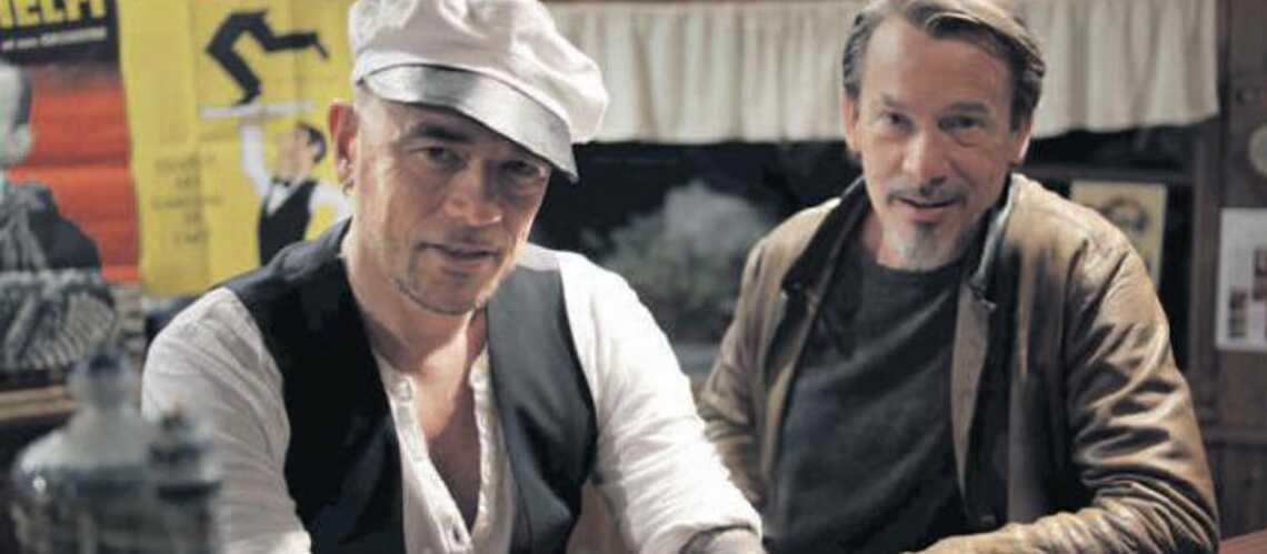 Florent Pagny et Pascal Obispo jouent les vieux singes