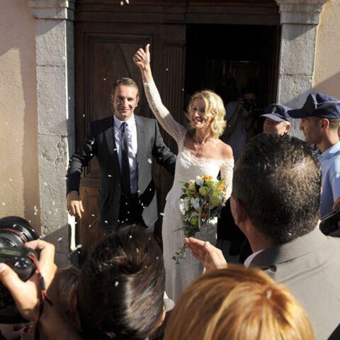 Alexandra Lamy et Jean Dujardin: retour sur leur mariage surprise