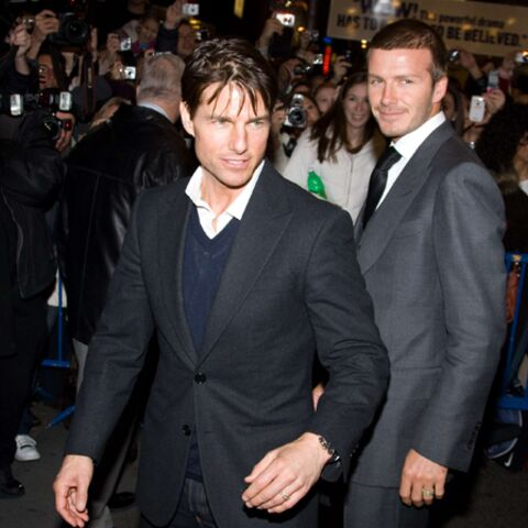 David Beckham et Tom Cruise: les frères siamois d'Hollywood