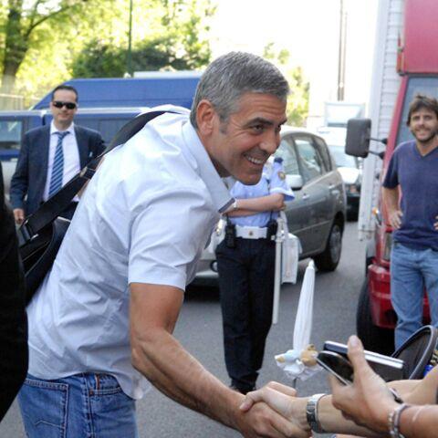 George Clooney: balade en Italie
