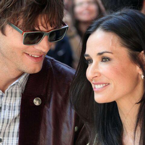 Demi Moore et Ashton Kutcher réunis chez Bruce Willis