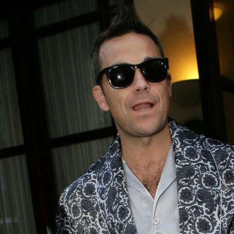 Robbie Williams revient de loin