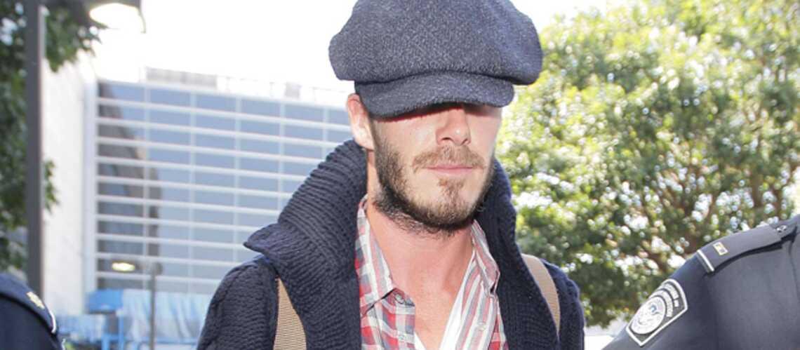 David Beckham: il se la joue comme Brad Pitt